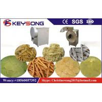 Buy cheap Semi - Automatic  French Fries Processing Line , 1-15mm Industrial Potato Cutter from wholesalers
