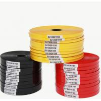 Buy cheap Supply hot stamping machine ribbon 28 * 40 thermal transfer ribbon PP / PE tube white foil from wholesalers