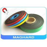 Buy cheap Soft Adhesive Flexible Rubber Magnetic Strip with Color PVC Permanent OEM from wholesalers
