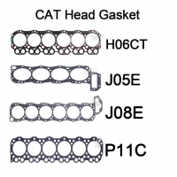 Buy cheap Hino P11C H06CT J05E J08E Excavator Engine Parts 4/6 Cylinder Head Gasket Replacement from wholesalers