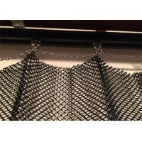 Buy cheap Decorative Aluminum Metal Coil Drapery 1.2MM Wire 6MM Hole Size CE Listed from wholesalers