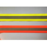 Wholesale 100% Polyester High Visibility Silver reflective tapes for Safety Vests / clothing from china suppliers