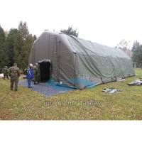 Wholesale Strong Customized Inflatable Army Tent , Inflatable Military Tent for Camping from china suppliers