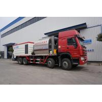 Buy cheap Intelligent Asphalt Road Tanks Trucks And Trailers HOWO 8 X 4 Synchronous Chip Sealer Truck from wholesalers