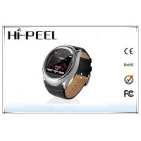 Buy cheap Leather Strap Auto Recording Mobile Phone GSM Quad Band Watch Phone With Bluetooth from wholesalers