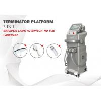 Buy cheap Anti-wrinkle Skin Care Beauty Equipment IPL OPT SHR Diode Laser and ND YAG laser machine from wholesalers