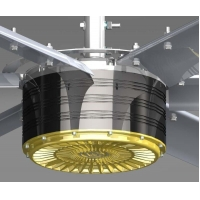 Buy cheap 24FT Ventilation Cooling Down Extra Large HVLS Fans from wholesalers