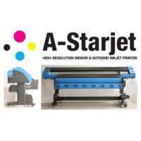 Wholesale 1.8M model digital large format Printer 1.8M model of A-Starjet 7702 with DX7 print head from china suppliers
