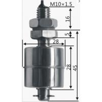 Buy cheap stainless steel float level switch Ideal for water or other liquid with PH-/PH+ from wholesalers