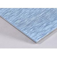 Buy cheap Anti-Static Brushed Aluminum Composite Panel With 3mm Aluminium Sheet from wholesalers