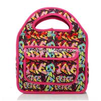 Wholesale Outdoor Leisure Neoprene Lunch Tote Handheld , Front Pocket Design from china suppliers