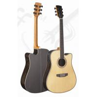 Wholesale 41inch OEM Rosewood solidwood vintage cutaway acoustic guitar/western guitar steel string Optional color- TP-AG56 from china suppliers