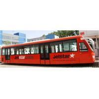Wholesale Comfortable 77 Passenger Airport Apron Bus Ramp Bus 13m×2.7m×3m from china suppliers