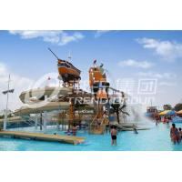 Buy cheap Funny Aqua Playground Fun Water Slides Combination With Biggest Water Slide For Family from wholesalers
