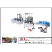 Wholesale High Capacity automatic Aerosol Filling Machine For PU Foam / Pesticide from china suppliers