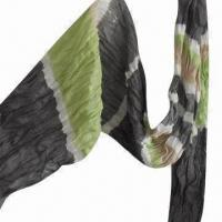Buy cheap Cashmere-like Scarf, Customized Specifications are Accepted, 5.9 Inchesx2.23 from wholesalers
