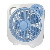 Buy cheap New 10'' Plastic Box Fan with 360 Oscillation function, 3 Speed Settings hot sell from wholesalers