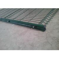 Buy cheap Fold Dark Green SHS Welded Wire Mesh Fencing Panels from wholesalers