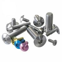 Buy cheap Anti Corrosion Titanium Header Bolts M5-M20 Motorbike Alkali Resistance from wholesalers