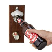 Buy cheap Permanent Type Magnetic Cap Catcher Metal Beer Bottle Opener Small Size from wholesalers