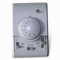 Buy cheap Thermostat with 110 to 240V Voltage and 400W Power, Measures 86 x 130 x 40mm from wholesalers