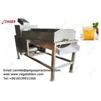 Buy cheap professional  high juice rate multi-function passion fruit juice machine from wholesalers