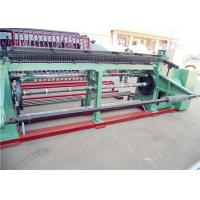 Buy cheap Double  Twisted Gabion Mesh Machine , Hexagonal Wire Mesh Machine For Feed Fence from wholesalers