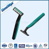 Wholesale Rubber Handle Twin Blade Disposable Razor Any Color Available ISO Certificate from china suppliers