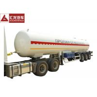 Buy cheap ASME Standard Aluminum LPG Tank Trailer Durable Long Life Span Large Sized from wholesalers
