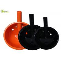 Buy cheap Orange Plastic Pig Drinking Water High Hardness Stainless Steel Pipe from wholesalers