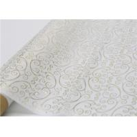 Buy cheap Moistureproof Hot Stamping Tissue Paper One Side For Flower Wrapping from wholesalers