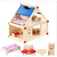 Buy cheap Simulation scenarios disassembly assembly houses villas child's play toy wooden puzzle from wholesalers