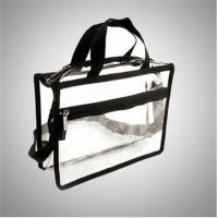 Buy cheap Recyclable Transparent Pvc Zipper Bag / Travel Storage Bags With Handle from wholesalers