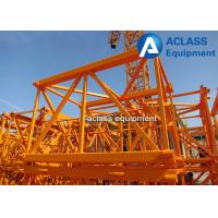ISO Approved 1.6*2.5m Mast Section Square Steel Stronger For QTZ50 Tower Crane