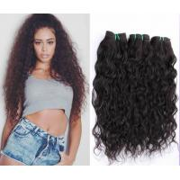 7A Curly Human Hair Extensions for Black Women Burgundy Customized