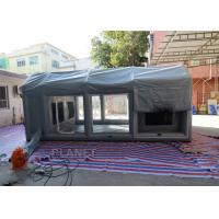 Buy cheap Air Sealed Frame Inflatable Spray Paint Booth Tent For Car Washing from wholesalers