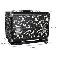 Wholesale Trolley Makeup Box Beauty Cosmetic Case Custom Packaging Hard PVC Panel from china suppliers