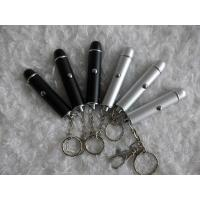 Flexible brightest silver, blue LED Laser Torches flashlight  for promotion LY818 Manufactures