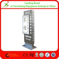 Buy cheap Wholesale New High-sensitivity Quality Outdoor Anti-wind Stand up Aluminum Led Digital Advertising Board from wholesalers