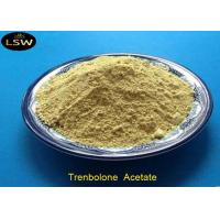 Buy cheap Tren Acetate Trenbolone Powder CAS 10161-34-9 Yellow Color Bodybuilding Supplements from wholesalers