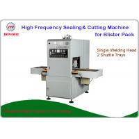 Buy cheap Semi Automatic Sealing Machine , HF Blister Sealing Machine With Shuttle Tray from wholesalers
