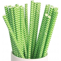 Buy cheap Chevron Branded Paper Straws from wholesalers