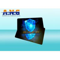 Buy cheap Hot Stamping Custom Printing RFID Blocker Card For Wallet Security from wholesalers