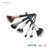Buy cheap Private Label OEM Fan Wooden Handle Makeup Brushes from wholesalers