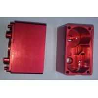 Red Anodized Custom Precision CNC Machining Services Aluminum Electronic Enclosures Manufactures