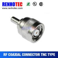Buy cheap Reverse Polarity TNC Male Crimp Connector RG174 from wholesalers