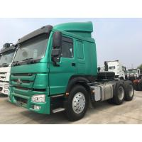 Buy cheap 371hp SINOTRUK HOWO 6*4 Prime Mover Truck White Color Diesel Engine from wholesalers