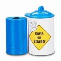 Wholesale Dog Waste Poop Bag Dispenser with One Roll Waste Bag from china suppliers