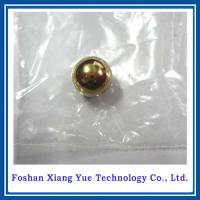 Buy cheap hollow brass ball 120mm from wholesalers