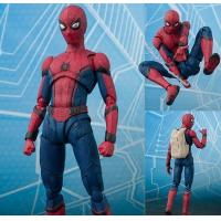 Buy cheap wholesale   NEW hot 15cm Avengers Spiderman Super hero Spider-Man: Homecoming Action figure toys doll collection from wholesalers